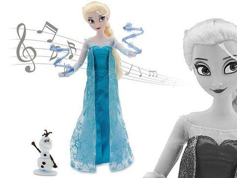 Кукла Эльза с Олафом, Поющая в магазине Магия кукол