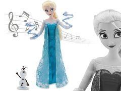 Кукла Эльза с Олафом, Поющая, Холодное сердце