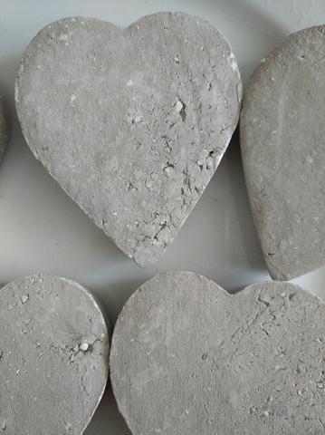 Сердце с глинами голубикой и кул бото