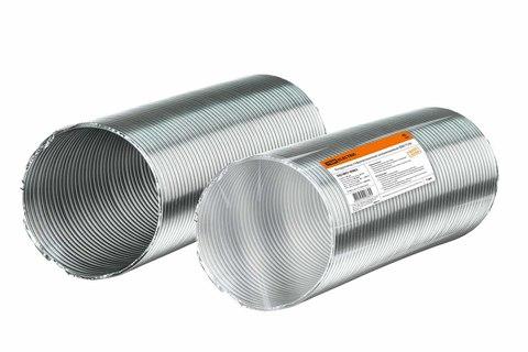 Воздуховод гофрированный алюминиевый Ø90 TDM