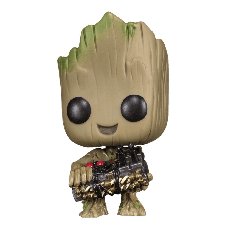 Фигурка Funko POP! Bobble Marvel Guardians Of The Galaxy 2 Groot w/Bomb (Exc) 21828
