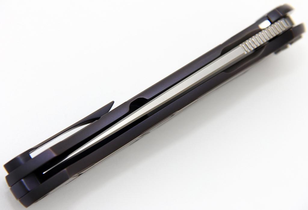 Нож Чебуркова Скаут М390 Титан анодирование - фотография