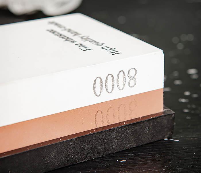 RAZ481 Точильный (водный) камень для заточки (8000/3000 грит) фото 04
