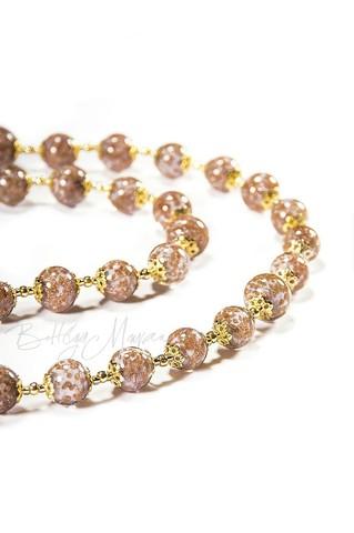 Ожерелье Amato светло-фиолетовое