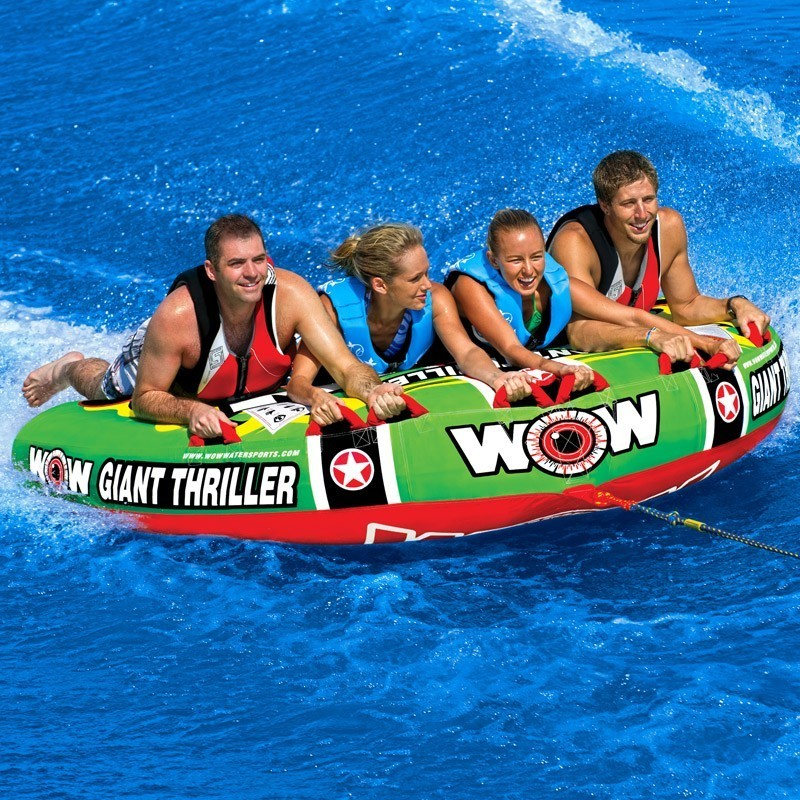 """Towable ski tube """"Giant thriller"""", 4 person"""