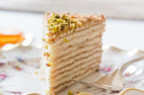 Вкуснейший безглютеновый тортик «Наполеон», классический