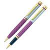 Набор подарочный Pierre Cardin Pen&Pen - Matte Violet, шариковая ручка + ручка-роллер, M