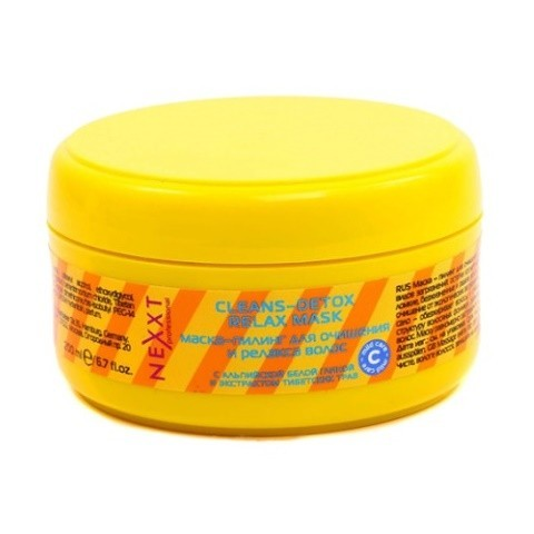 Маска-пилинг для очищения и релакса волос, NEXXT, 200 мл