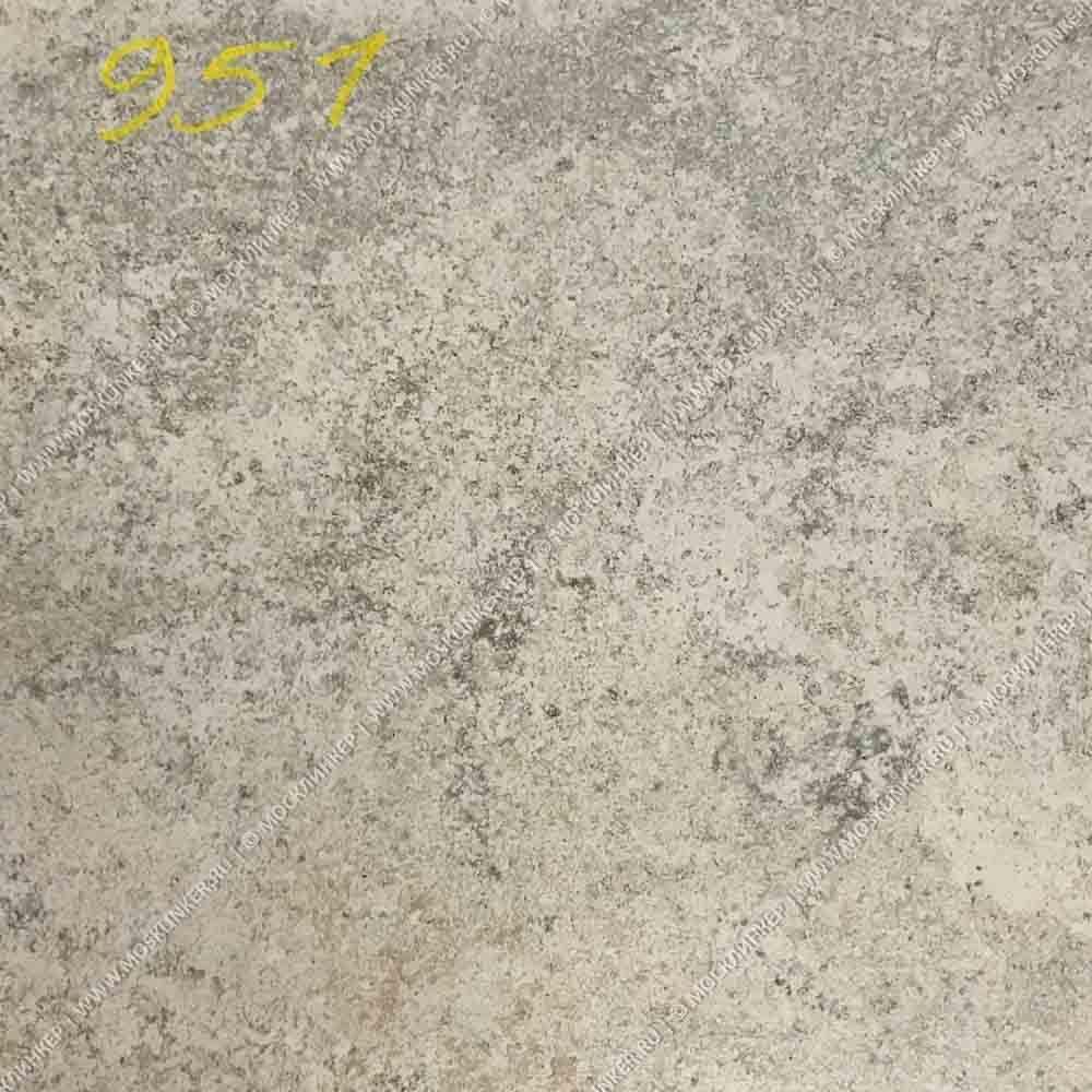 Stroeher - Keraplatte Epos 951 krios 294х340х35х11 артикул 9430 - Клинкерная ступень прямоугольная рядовая Loftstufe