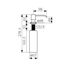 Дозатор Kaiser KH-301 схема