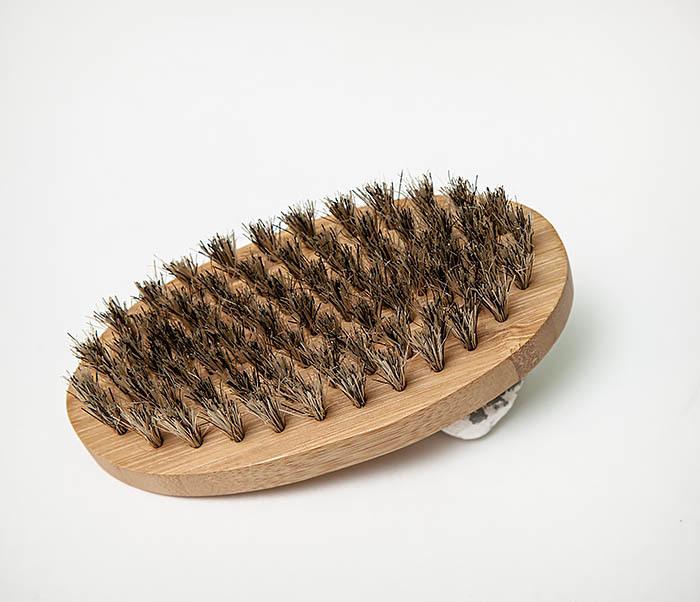 RAZ496 Деревянная щетка для бороды «Kurt» (размер L) фото 02