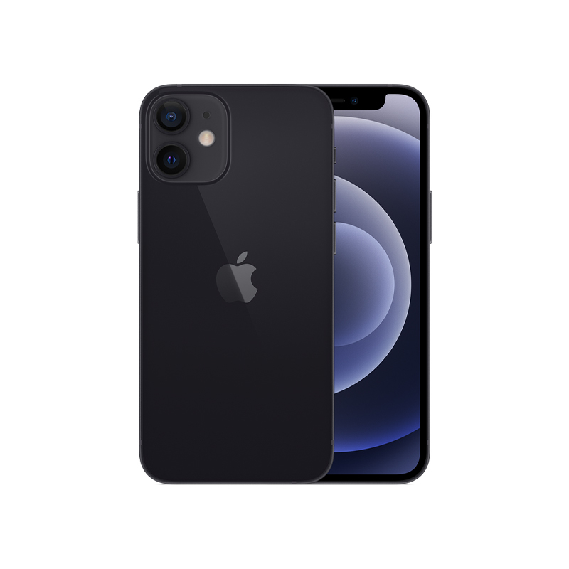 iPhone 12 mini, 256 ГБ, чёрный