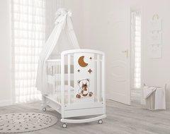 Детская кровать Жаклин (мишка с соской) Гындылян