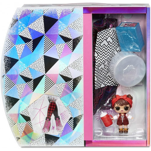 Игровой набор O.M.G. Winter Chill Camp Cutie Fashion Doll & Babe in The Woods Doll, 570257