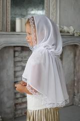Платок белый