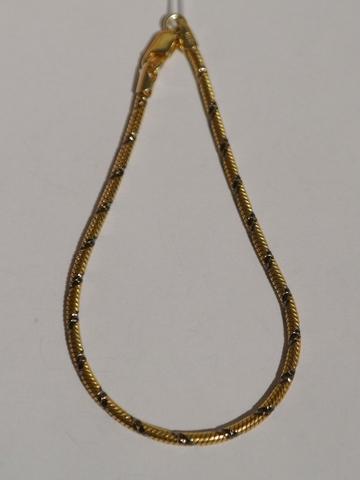 Снейк круглый с алмазными насечками  (серебряная цепочка )