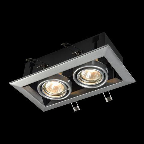 Встраиваемый светильник Maytoni Metal Modern DL008-2-02-S