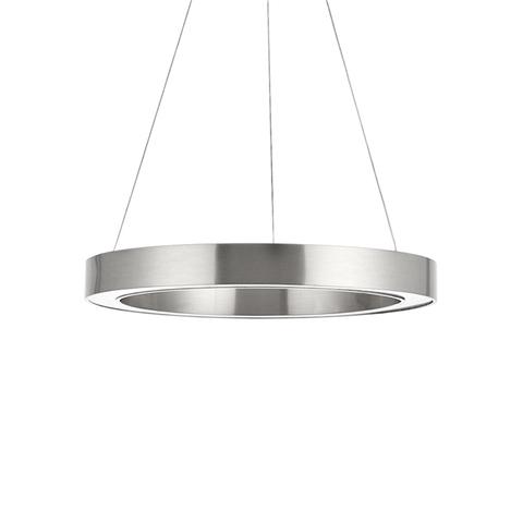 Подвесной светильник копия Light Ring by HENGE D70 (никель)