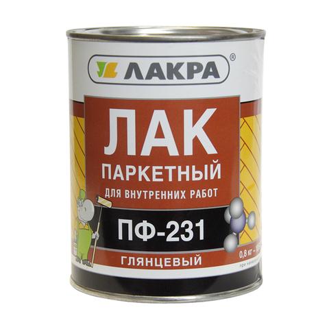Лак ПФ-231 паркетный (0,8кг) (Л-С)