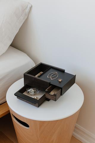 Шкатулка для украшений Stowit Mini чёрная