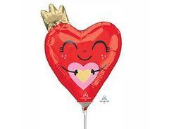 А Мини-фигура, Сердце красное с короной, 10
