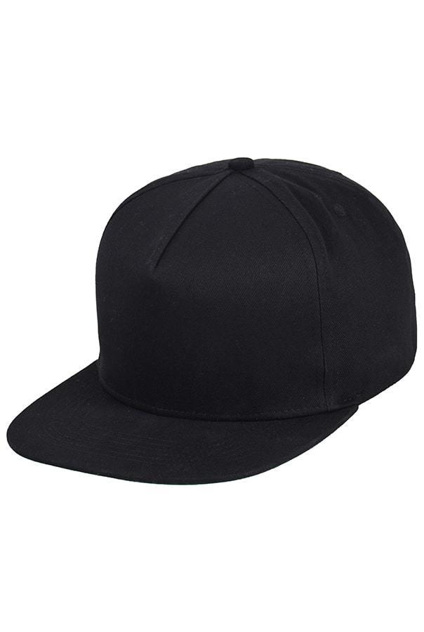 Черная бейсболка фото спереди