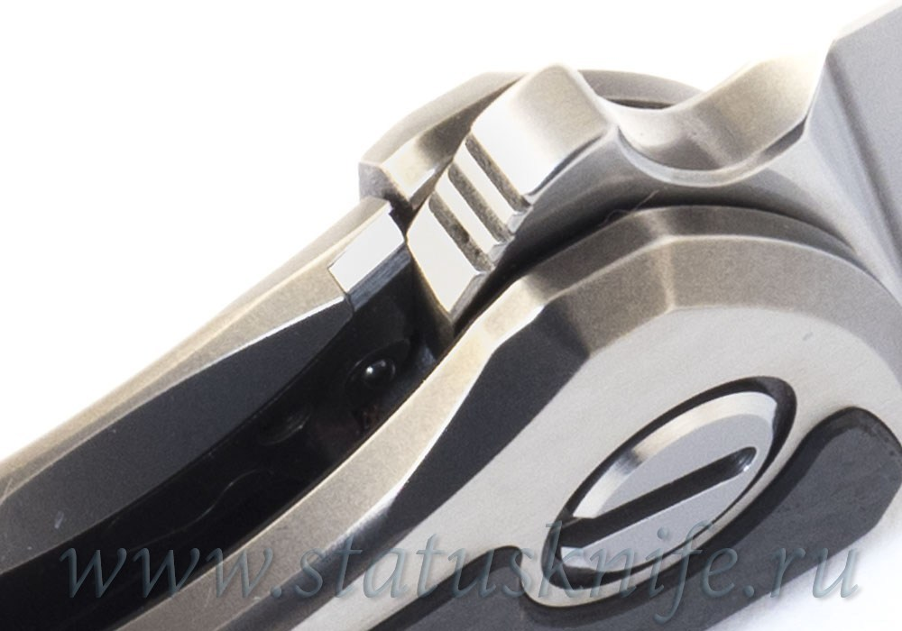 Нож Широгоров Ф95 High Polished CF M390 Кастом Дивижн - фотография