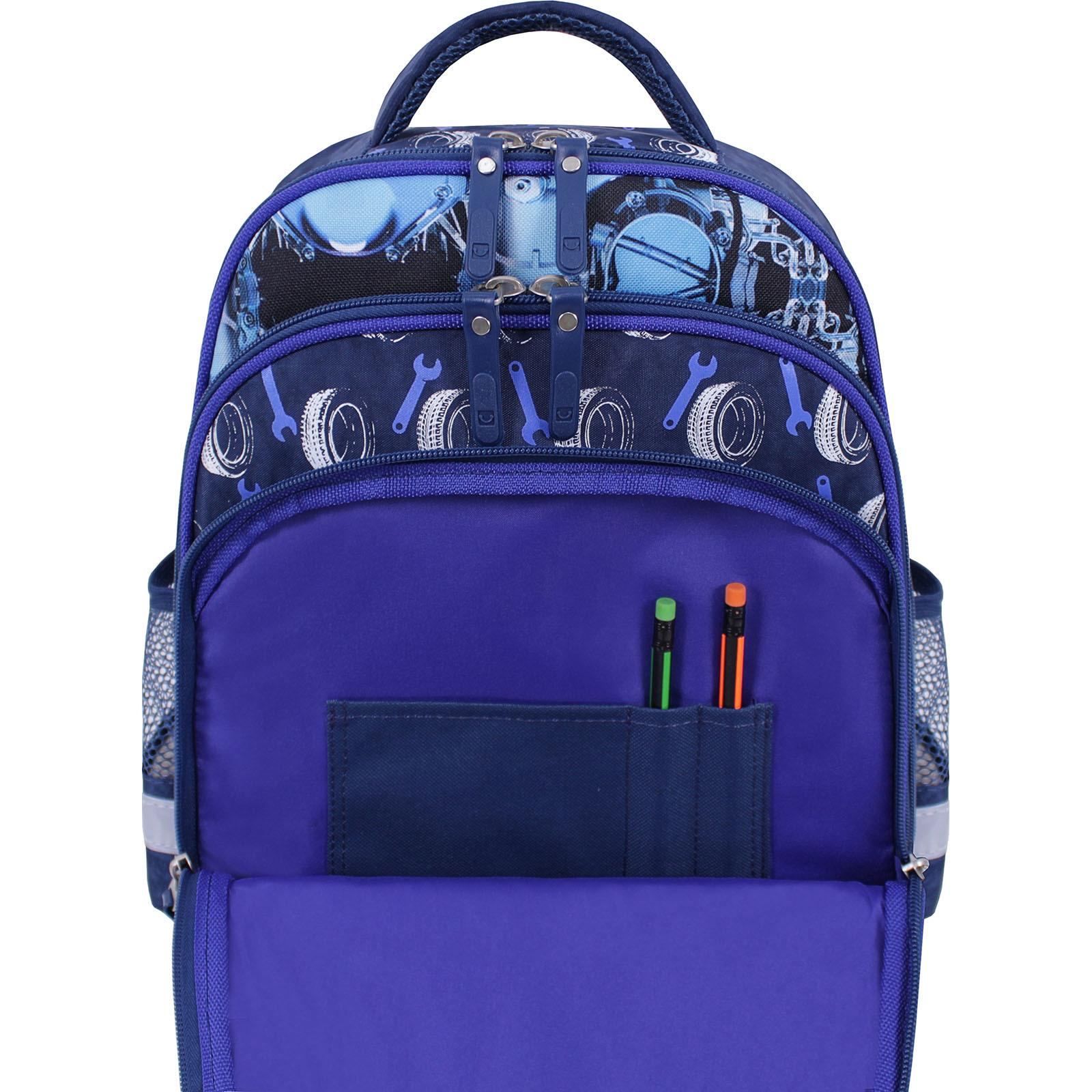 Рюкзак школьный Bagland Mouse 225 синий 555 (0051370) фото 5