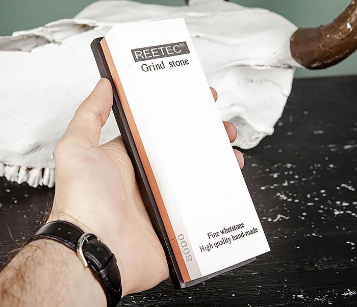 RAZ481 Точильный (водный) камень для заточки (8000/3000 грит) фото 06