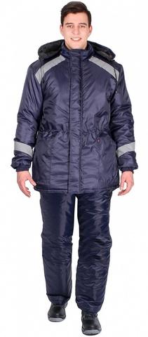 Куртка Прогресс зимняя (Оксфорд) т.синий