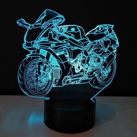 Мотоцикл №2 (спортбайк)