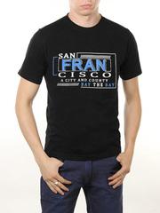 461493-14 футболка мужская, черная