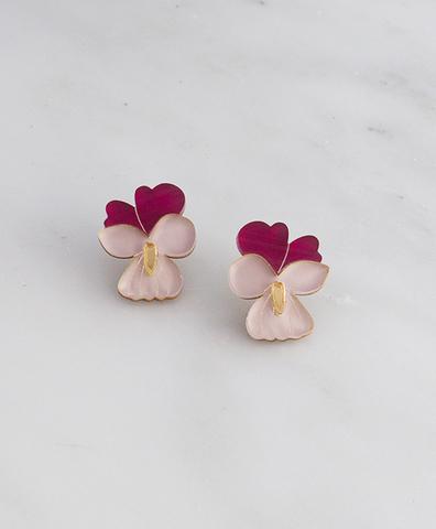 Серьги Mini Violet Studs