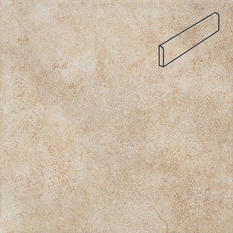 Interbau - Nature Art, Bambus beige/Бежевый, цвет 112 - Клинкерный плинтус ступени правый