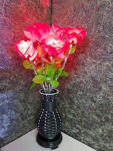 Светящиеся роза