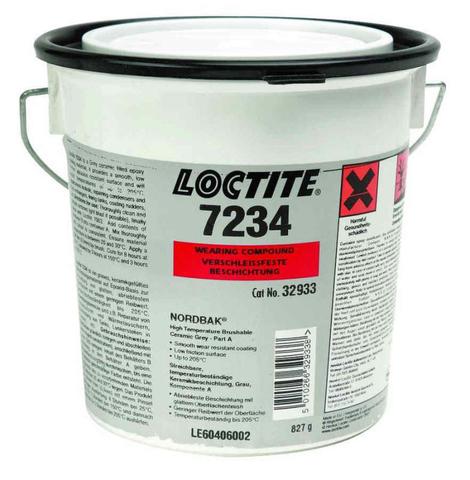 LOCTITE PC 7234 Высокотемпературная защита от истирания мелкими частицами, наносится кистью