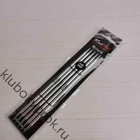 Спицы чулочные Knit Pro Nova Metal  15 см, № 4