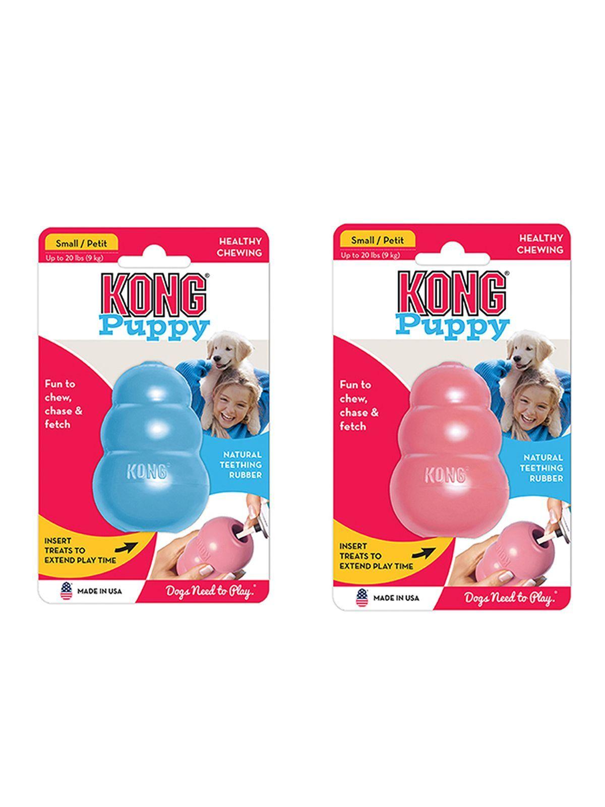 Игрушки Игрушка для щенков KONG Classic Puppy S 7x4 см маленькая KP3_1.jpeg