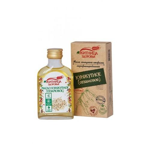 Масло белого кунжута (сезамовое), 100 мл. (Житница здоровья)