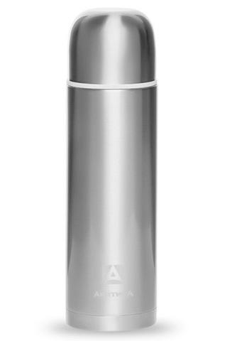 Термос Арктика (0,75 литра) с узким горлом современный, белая отделка