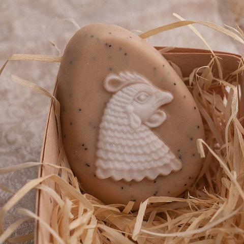 Пластиковая форма для мыла Яйцо/Курица