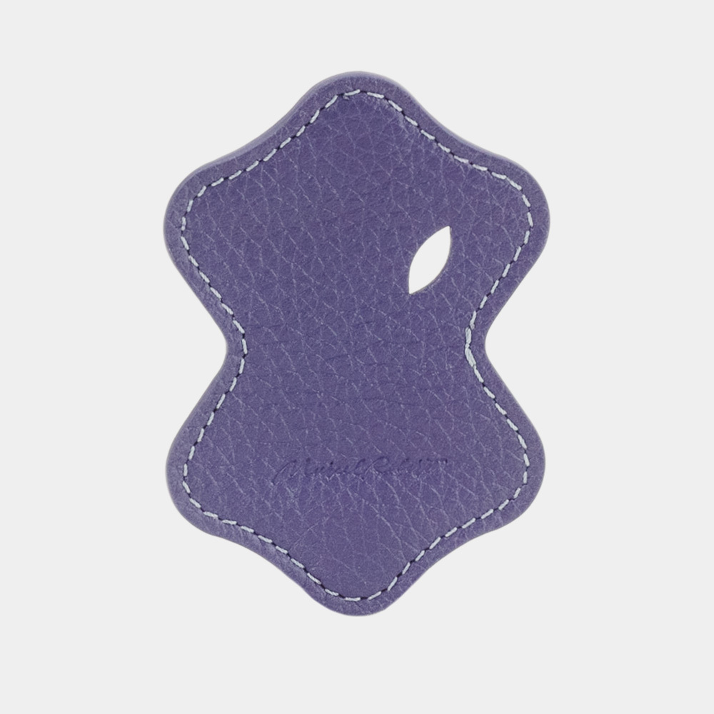 Чехол-держатель для наушников Chapeau Easy из натуральной кожи теленка, цвета сирени