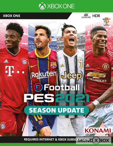 eFootball PES 2021 Season Update (Xbox One/Series X, русские субтитры)