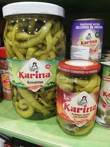 Перец Karina Guindillas 700g Испания