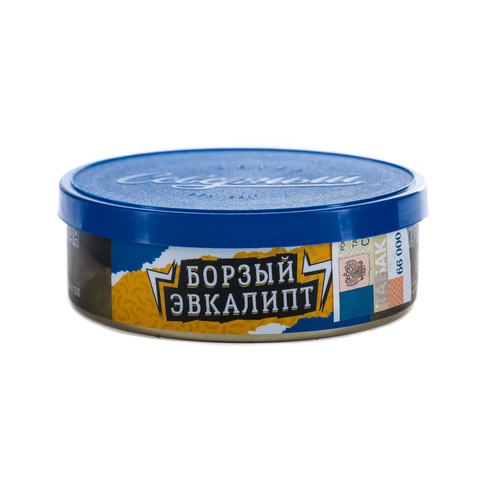 Табак Северный 25 гр Борзый Эвкалипт