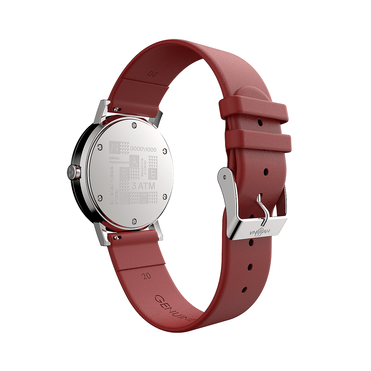 NARBUT CARMINE RED