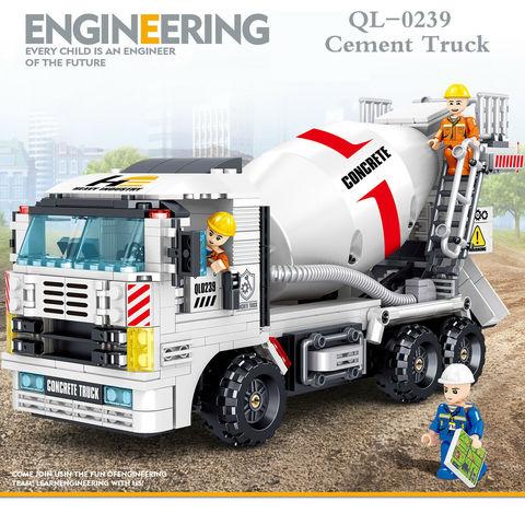 Конструктор QL0239 ZHEGAO Цементовоз