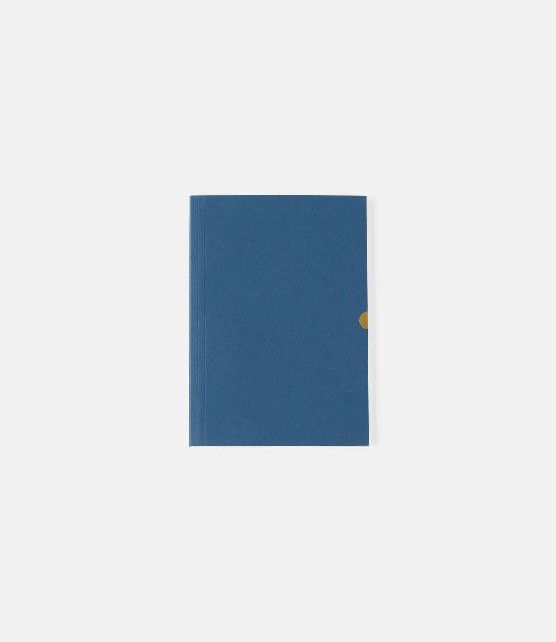 Mark+Fold Plain Notebook — нелинованный блокнот А5: синий