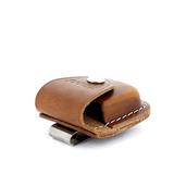 Чехол для зажигалки Zippo из кожи с металлическим клипом на ремень (LPCB)