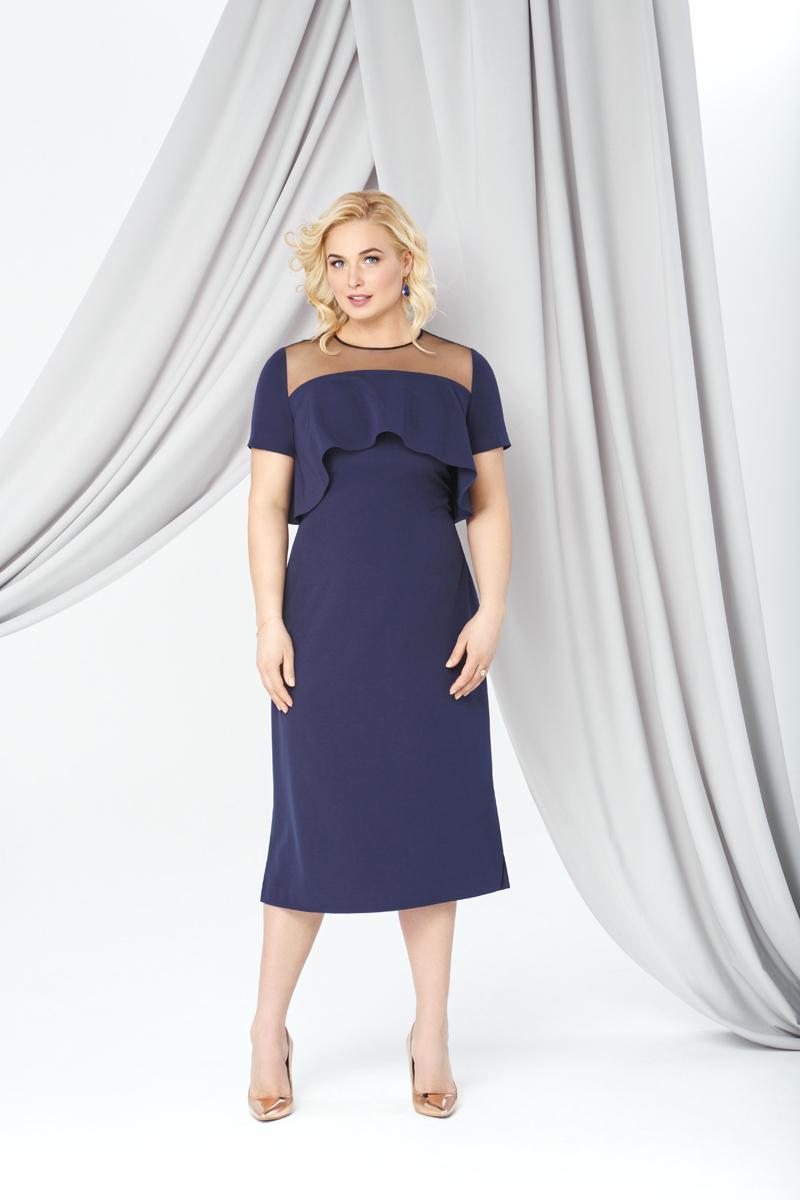 Платья Коктейльное платье синего цвета 0289 0289_017.jpg